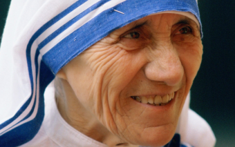 """The most powerful woman in the world"": Mother Teresa at the UN"