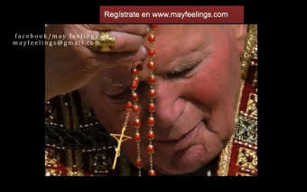 Mayfeelings IV: John Paul II, the Virgin and the youth