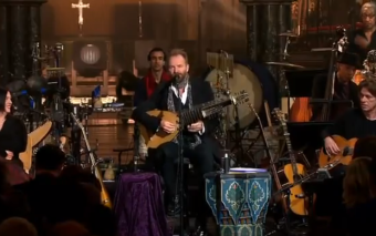 Sting sings to the Virgin Mary