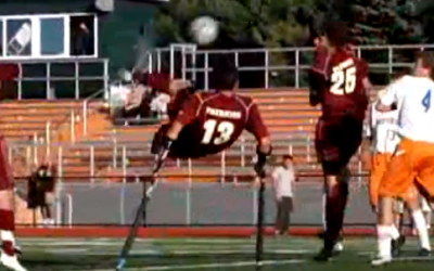 The most watched varsity goal in the world…get to know the scorer