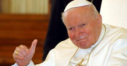 "Saint John Paul II Singing Dynamite: ""Perhaps I Love You More"""