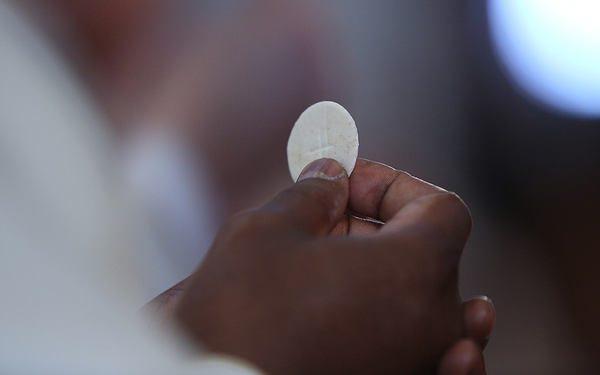 God's gift communion body of Christ mass