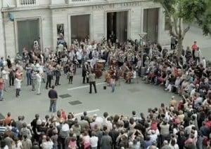 A Catholic Symphonic Flashmob?!
