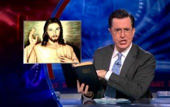 Why Priests? Stephen Colbert takes on Garry Wills on the Real Presence of the Eucharist