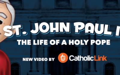 EWTN Interviews Catholic-Link About Our Viral Saint John Paul II Cartoon