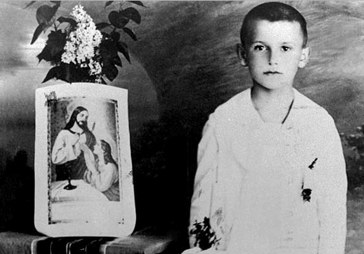 St. John Paul II Child Pictures