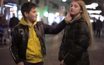 "They Told This Little Boy to ""Slap her""… Do You Think He'll Really Do It?"
