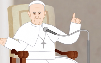 Introducing A Cartoon Series About Pope Francis! | Catholic-Link.org