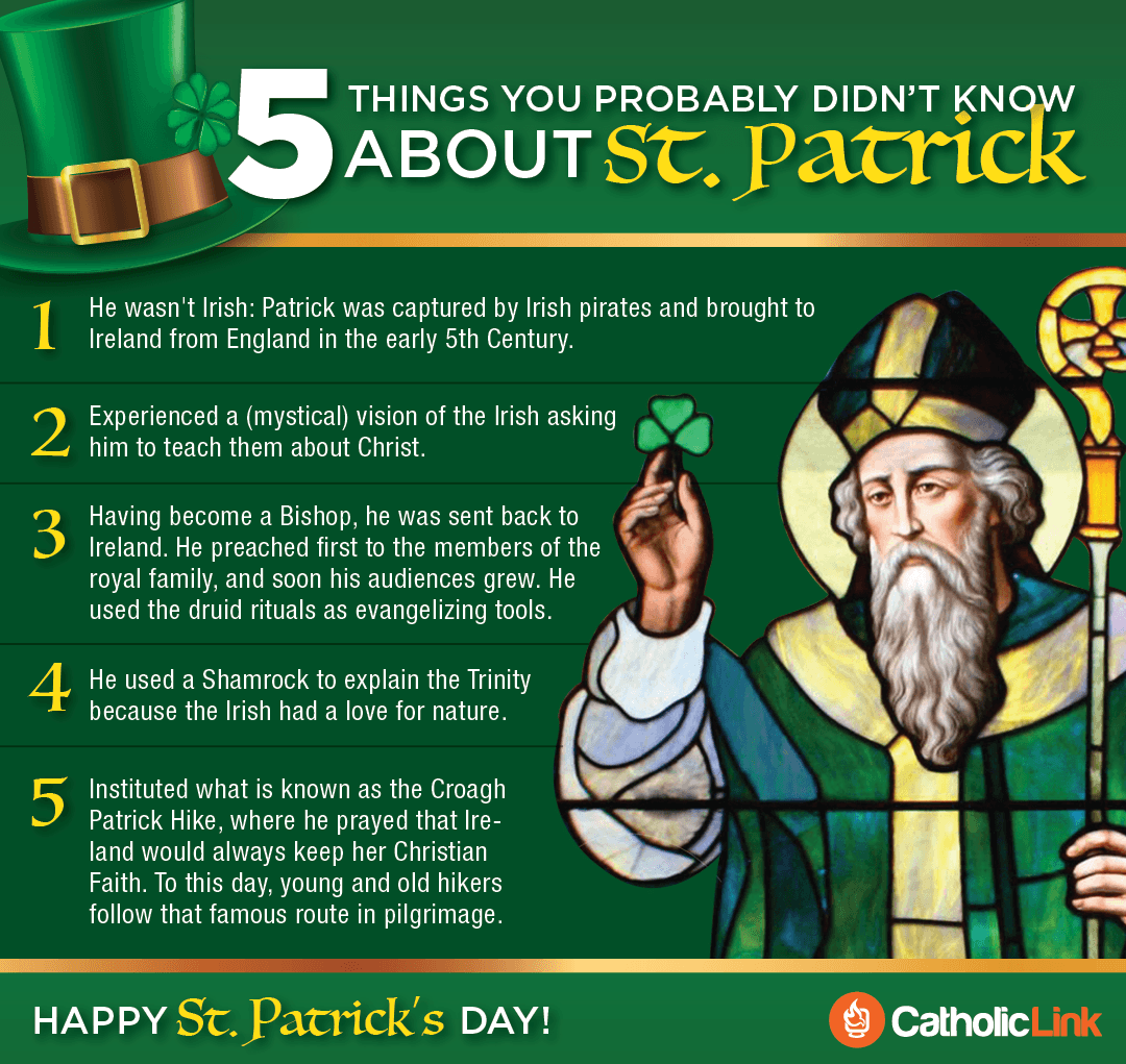 5 Things To Know ABout St. Patrick