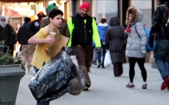 A boy was Freezing in the Cold. While Many Passed By, the One Who Helped Him might Surprise you!