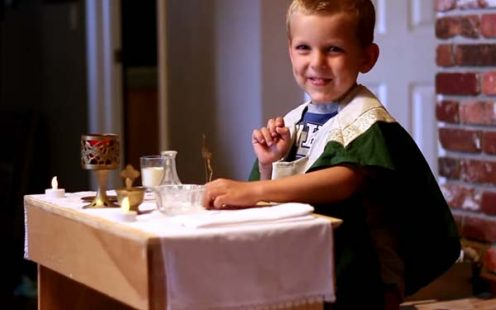 tips for taking children to church