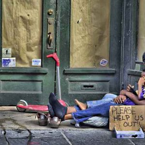 homeless how to help the poor