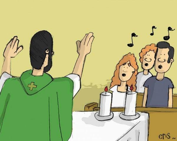 Parts of the Catholic Mass Explained Gloria