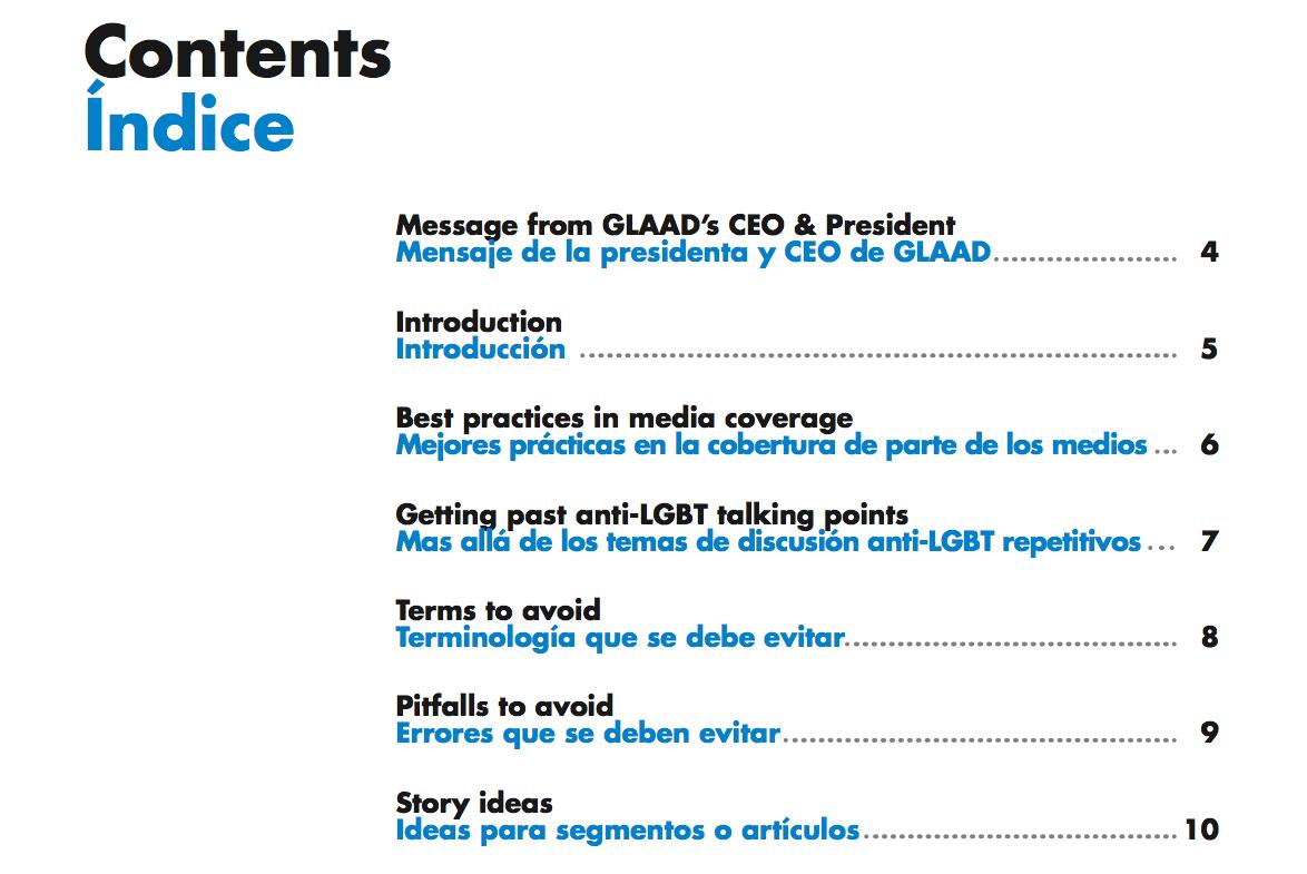 Glad Media Guide