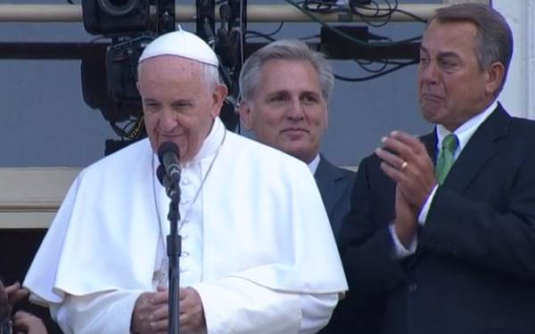 "The ""Francis Effect"": House Speaker John Boehner Resigns 1 Day After Meeting With the Pope (Video)"