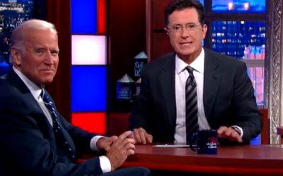 Giving Faith a Chance to Speak: Joe Biden's Interview with Stephen Colbert
