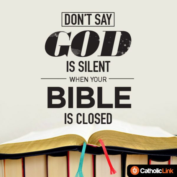 Don't Say God Is Silent When Your Bible Is Closed