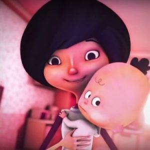 fallen moon animation about motherhood choice catholic