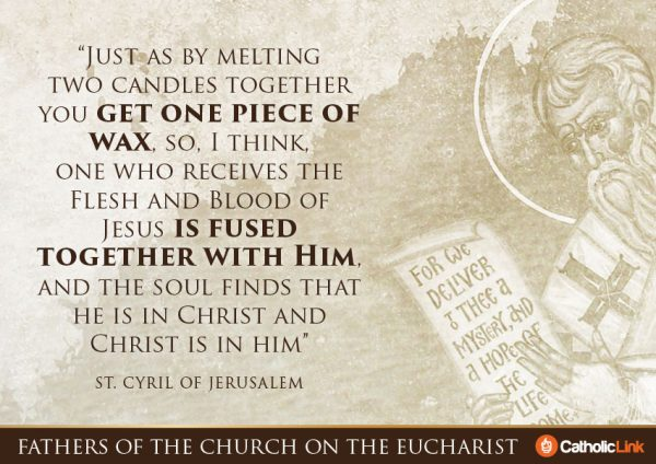 Gallery: 10 Church Fathers\' Quotes On The Eucharist ...