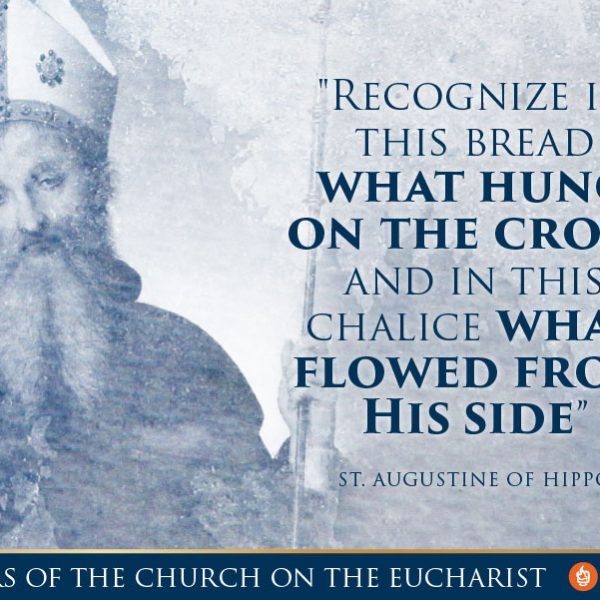 Quote on the Eucharist Church Father