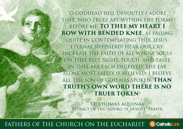 10 Quotes On The Eucharist From Fathers of the Church