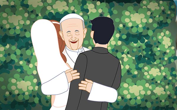 "Pope Francis Minute: ""The Secret To Having a Successful Relationship"""