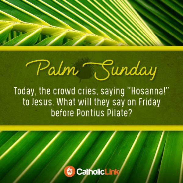 Palm Sunday Holy Week