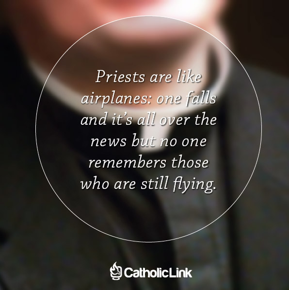 How Are Priests Like Airplanes?
