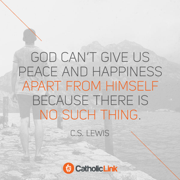 There Is No Happiness Without God | C.S. Lewis
