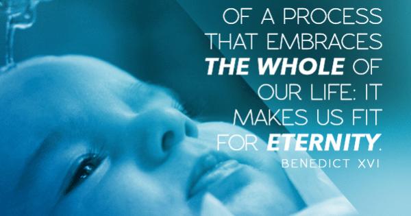 What Happens In Baptism | Pope Benedict XVI