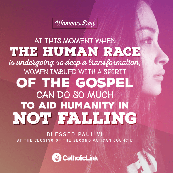 Women Can Help Humanity | Paul VI