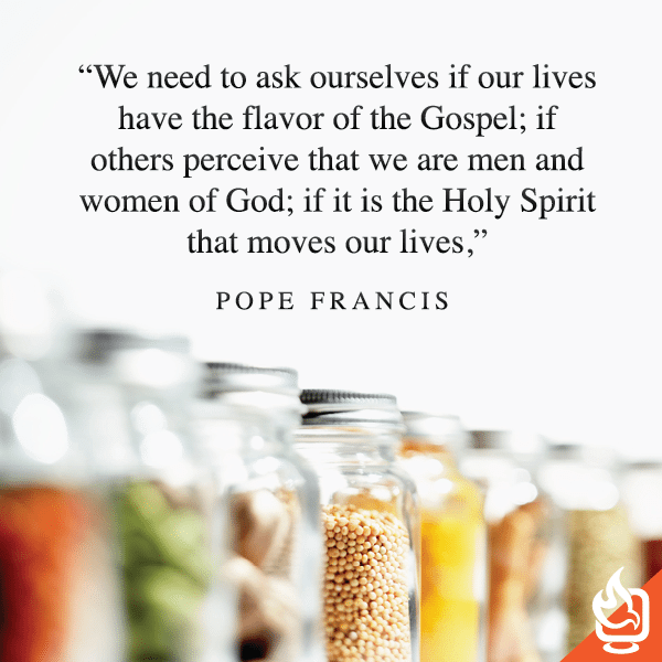 The Flavor Of The Gospel | Wisdom Of Pope Francis
