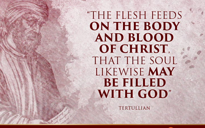Church Father Quote on the Holy Eucharist