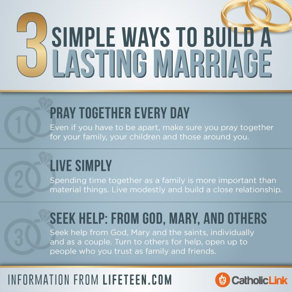 Infographic: 3 Simple Ways to Build a Lasting Marriage