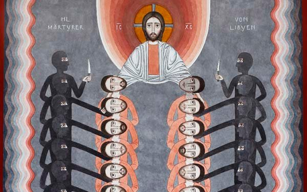An Astonishingly Beautiful Icon to Remember the 21 Coptic Christians Martyred by ISIS