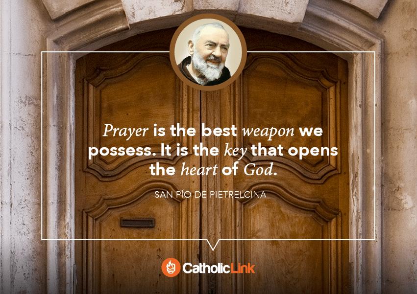 padre pio quote on prayer
