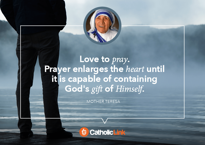 mother teresa quote on prayer