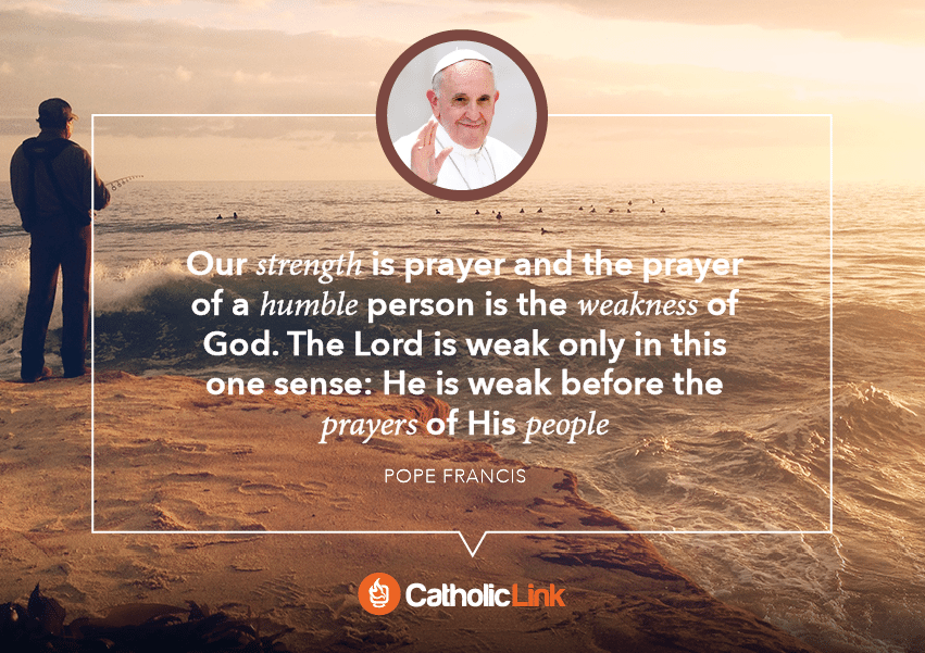 pope francis quote on prayer