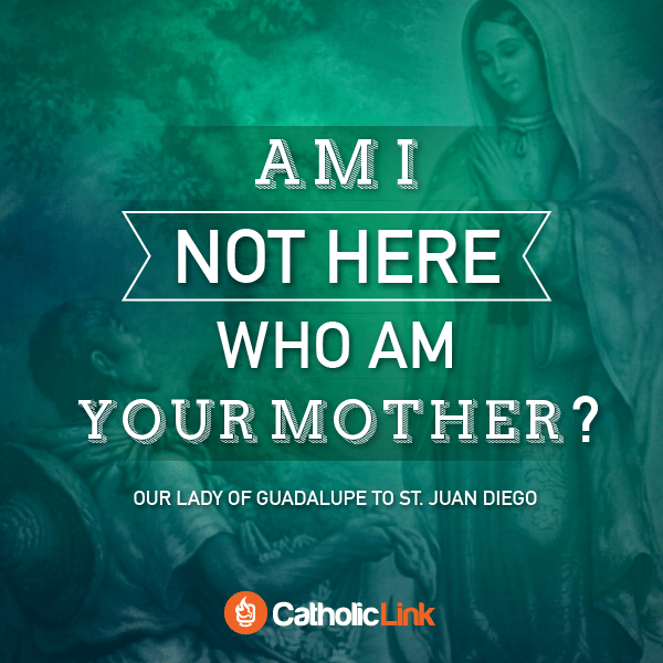 Am I Not Here Who Am Your Mother? Our Lady of Guadalupe