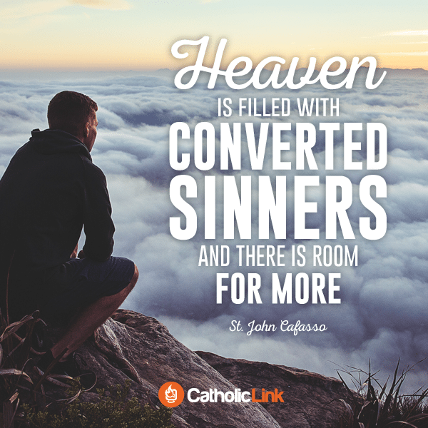 Heaven is Filled with Converted Sinners | St. John Cafasso
