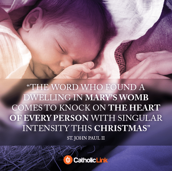 The Word Comes to Knock on our Hearts St. John Paul II