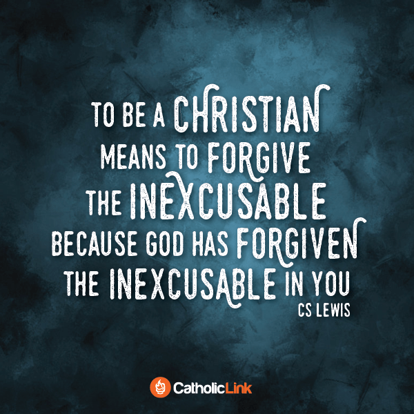 To Be A Christian Means To Forgive According To C.S. Lewis