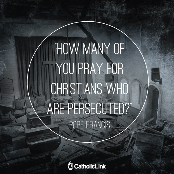 Do You Pray For Persecuted Christians?