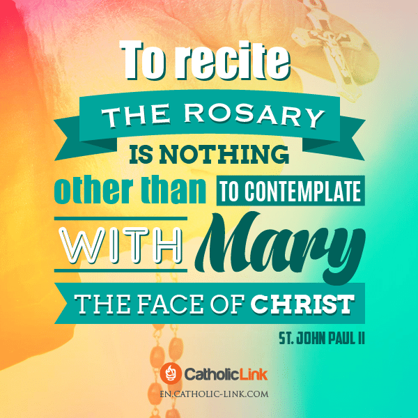 John Paul II Quote on the Rosary