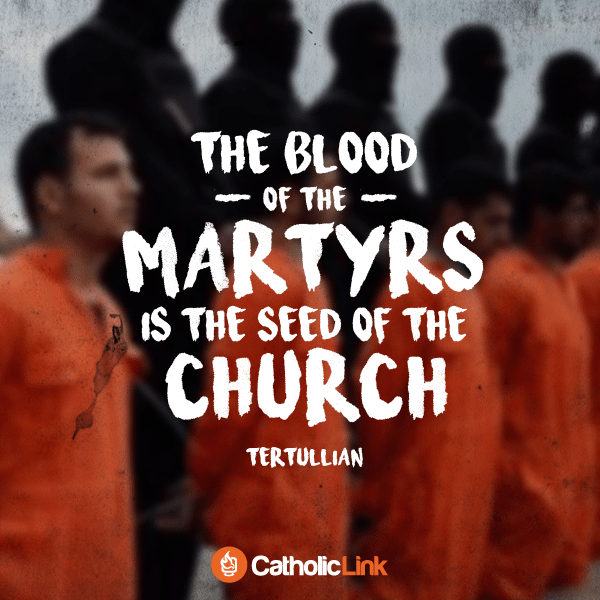 The Blood Of The Martyrs Is The Seed Of The Church | Tertullian Quote