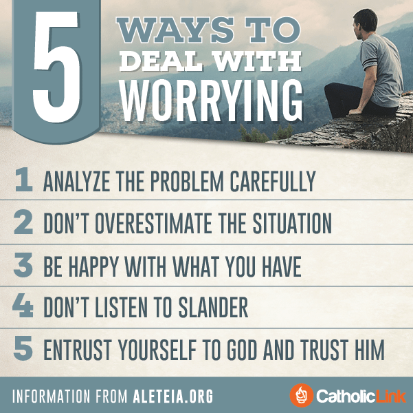 Infographic: 5 Ways To Deal With Worrying