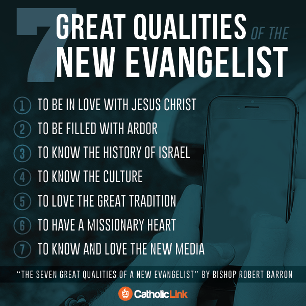 Infographic: 7 great qualities of the new evangelist