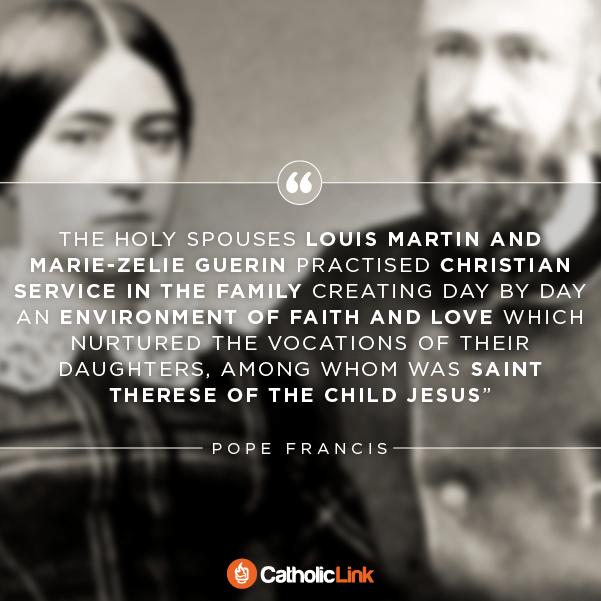 Saints Louis And Zelie Martin Quote married saints