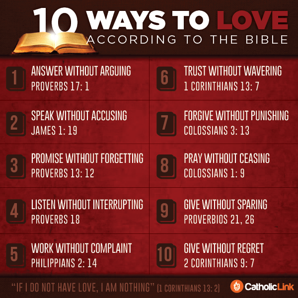 10 Ways To Love According To The Bible