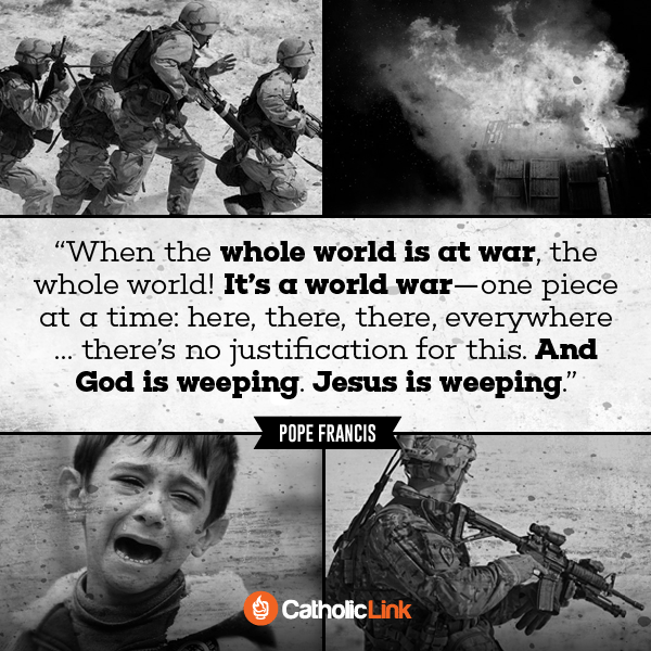 When The World Is At War, God Weeps
